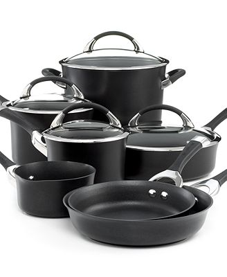 Circulon Symmetry 11-Pc. Cookware Set