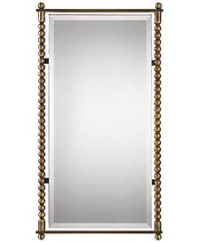 Uttermost Rosabel Antique Brass Rectangular Mirror