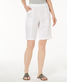 Eileen Fisher Organic Linen Shorts