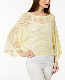Eileen Fisher Organic Linen Sheer Sweater
