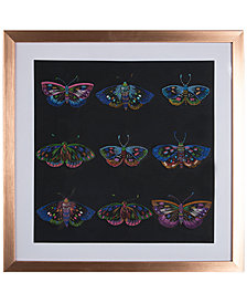 Graham & Brown Beautiful Butterflies Stitched Framed Print