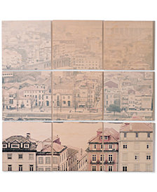 Deny Designs Ingrid Beddoes Oporto 9-Pc. Printed Wood Wall Mural