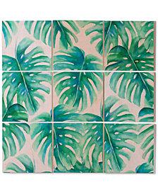 Deny Designs Jacqueline Maldonado Paradise Palms 9-Pc. Printed Wood Wall Mural