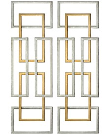 Uttermost Aerin 2-Pc. Geometric Wall Art Set