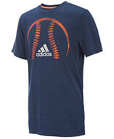 adidas Graphic-Print T-Shirt, Big Boys