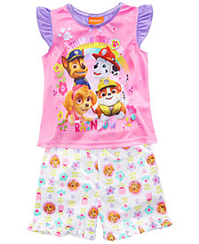 Nickelodeon's® Paw Patrol 2-Pc. Graphic-Print Pajama Set, Toddler Girls