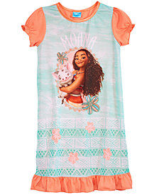 Disney's® Moana Graphic-Print Nightgown, Little & Big Girls