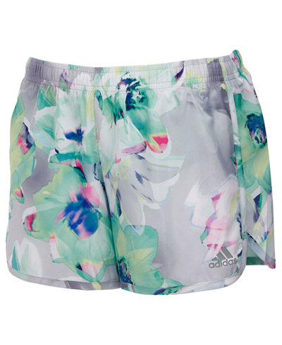 adidas Breakaway Printed Shorts, Little Girls