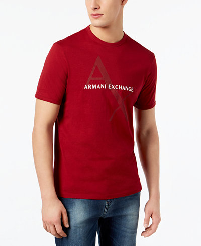 Armani Exchange Men's Graphic Print T-Shirt