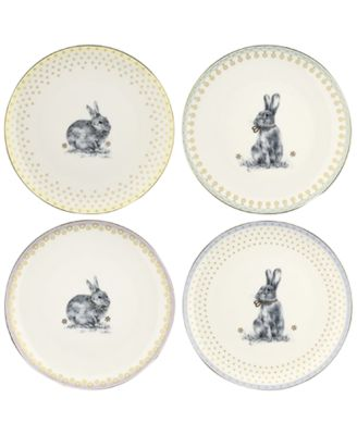 Meadow Lane Salad Plates, Set of 4