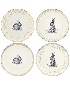 Spode Meadow Lane Salad Plates, Set of 4