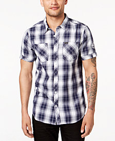 Buffalo David Bitton Men's Serenade Plaid Shirt