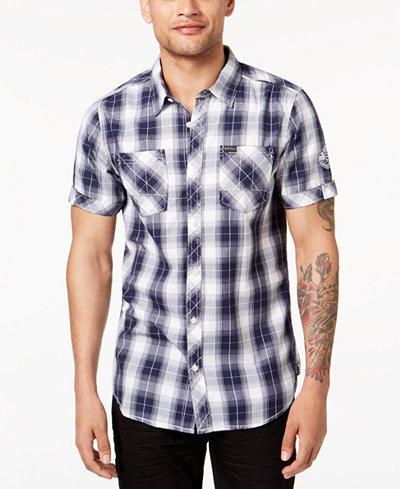 Buffalo David Bitton Men's Serenade Plaid Shirt
