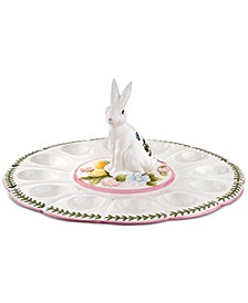 Botanic Garden Terrace Bunny Devilled Egg Dish