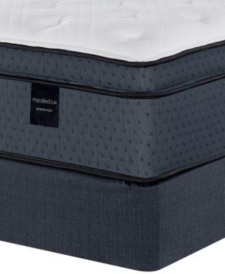 "Belvedere 15.5"" Luxury Plush Euro Top Hybrid Mattress Set - Twin, Created for Macy's"