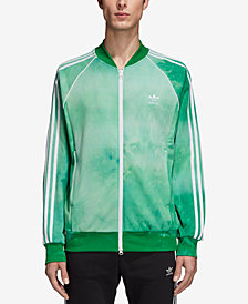 adidas Originals Men's Hu Holi Printed Terry Track Jacket