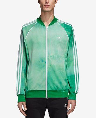 Adidas Uomini Hu Holi Stampato Terry Traccia Giacca Cappotti & Giacche