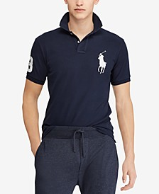 Men's  Big Pony Custom Slim Fit Mesh Polo