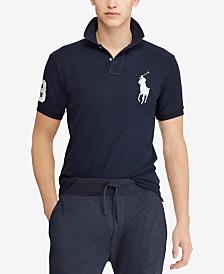 Polo Ralph Lauren Men's  Big Pony Custom Slim Fit Mesh Polo