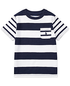Polo Ralph Lauren Striped Cotton T-shirt, Toddler Boys