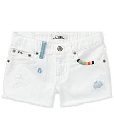 Polo Ralph Lauren Cotton Shorts, Toddler Girls