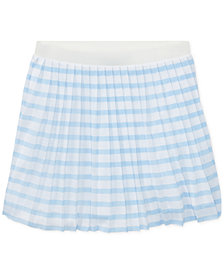 Polo Ralph Lauren Pleated Pull-On Skirt, Big Girls