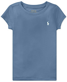 Polo Ralph Lauren Stretch T-Shirt, Little Girls