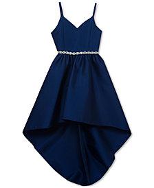 Rare Editions Embellished-Waist Dress, Big Girls