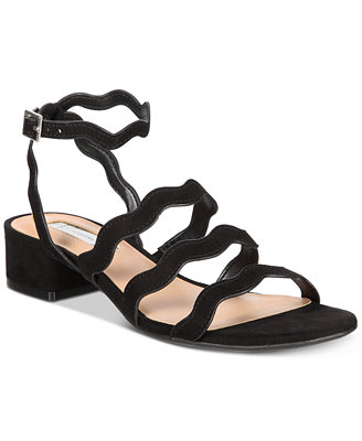 I.N.C. Women's Leticia Strappy Block Heel Sandals, Created For Macy's by Inc International Concepts