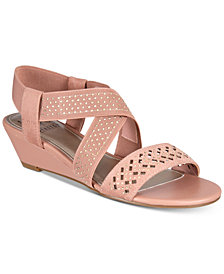 Impo Gritha Stretch Wedge Sandals