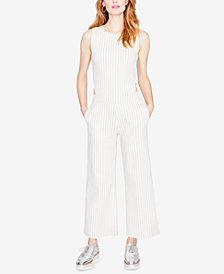 RACHEL Rachel Roy Striped Side-Cutout Jumpsuit, Created for Macy's