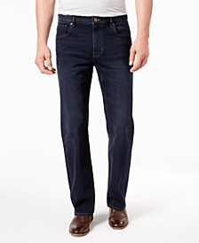 Men's Rivington Relaxed Straight-Fit Stretch Jeans, Created for Macy's