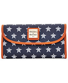 Dooney & Bourke Houston Astros Large Continental Clutch