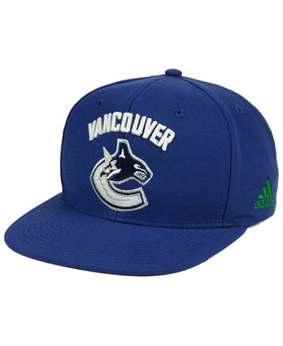 adidas Vancouver Canucks Core Snapback Cap