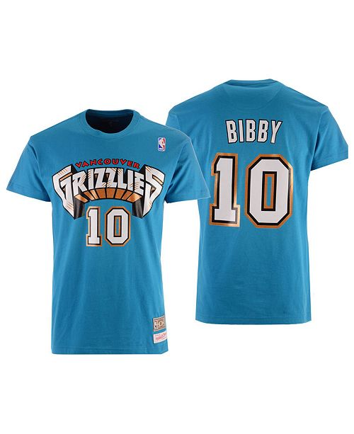 e70e7a5d7 Mitchell   Ness Men s Mike Bibby Vancouver Grizzlies Hardwood Classic Player  ...