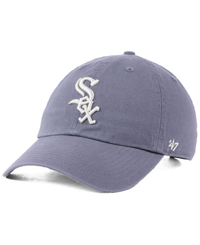 '47 Brand Chicago White Sox Dark Gray CLEAN UP Cap