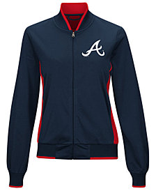 G-III Sports Women's Atlanta Braves Triple Track Jacket