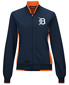 G-III Sports Women's Detroit Tigers Triple Track Jacket