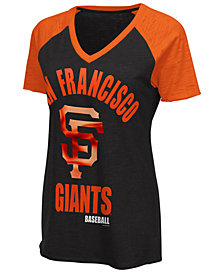 G-III Sports Women's San Francisco Giants Game On T-Shirt