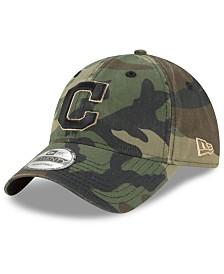 New Era Cleveland Indians Camo Core Classic 9TWENTY Cap