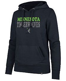 '47 Brand Women's Minnesota Timberwolves Wordmark Headline Hoodie