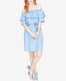 RACHEL Rachel Roy Ruffled Off-The-Shoulder Dress, Created for Macy's
