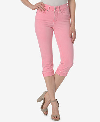 Marilyn Cropped Tummy Control Jeans by Nydj