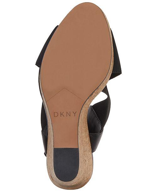 5627e726ac9 DKNY Jamara Wedge Sandals
