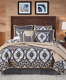 Croscill Kayden 4-Pc. Medallion Jacquard Queen Comforter Set