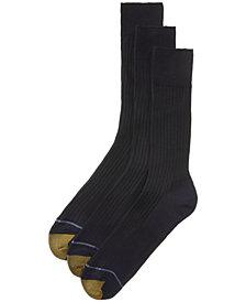 Gold Toe ADC Canterbury 3 Pack Crew Dress Men's Socks