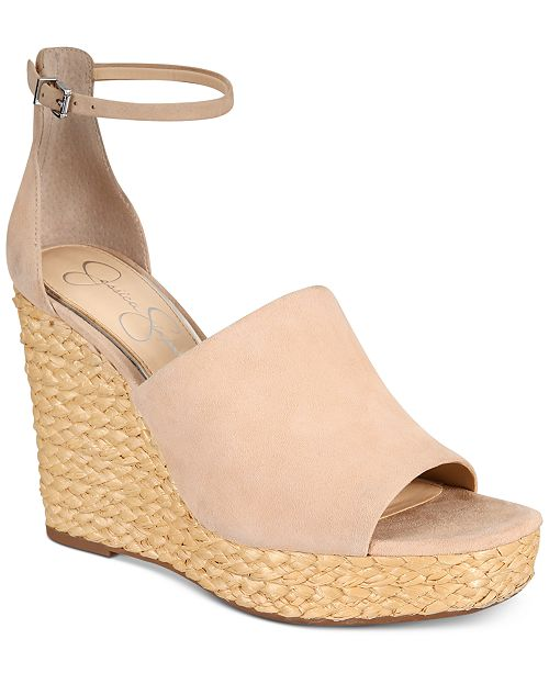 46d3b9ae069c Jessica Simpson Suella Espadrille Wedge Sandals   Reviews ...