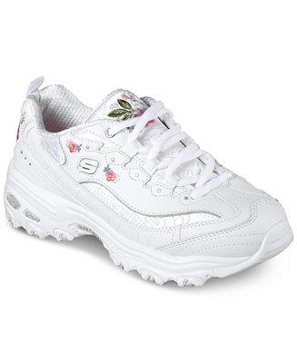 Skechers Women's D Lites Bright Blossoms Walking Sneakers