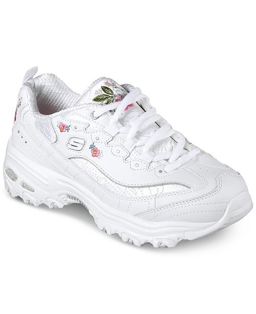 Skechers Women's D-Lites - Bright Blossoms Walking Sneakers from Finish Line eIrCAEehNm