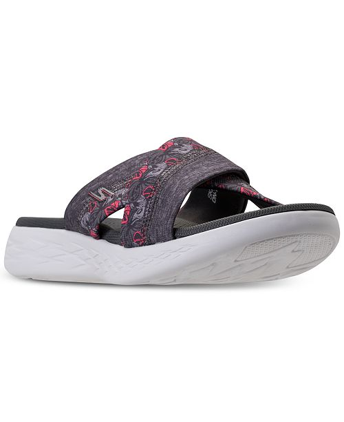 d8feac27f3a72 ... Skechers Women's On The Go 600 - Monarch Athletic Sandals from Finish  ...